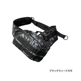 ≪'19年3月新商品!≫ シマノ XEFO・タフ スリングショルダーバッグ BS-211S ブラックウィードカモ Mサイズ