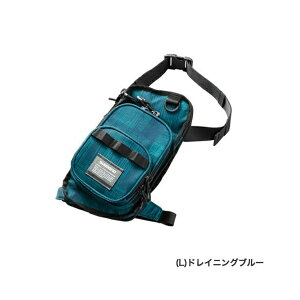 ≪'19年9月新商品!≫ シマノ ランガンレッグバッグ WB-022R ドレイニングブルー R(右足)タイプ
