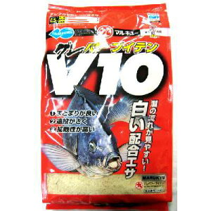 ★マルキュー★【グレパワーV10 (1箱ケース・12袋入)】 8190