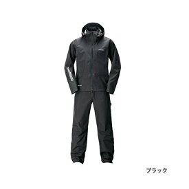 ≪'20年3月新商品!≫ シマノ ゴアテックス(R) アドバンスレインスーツ RA-017T ブラック 4XLサイズ