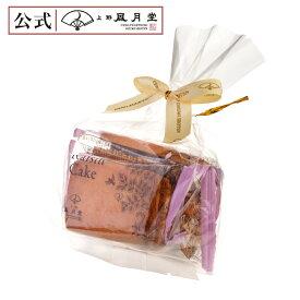 【上野風月堂公式オンラインショップ】上野風月堂 レーズンケーキ 4個