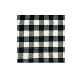 チェックマルチカバー ブラック 225×150cm【お取り寄せ】【郵便NG】