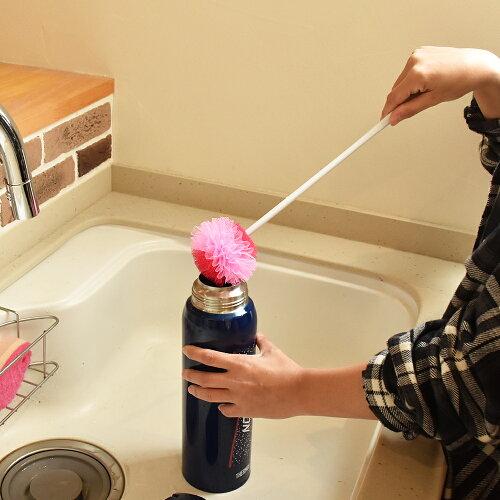 今ならポイント20倍!フローラミニのロングタイプ☆40cmの長さで洗いにくい大きめ水筒も楽々洗い「FROLAフローラミニ☆ロング40cm」【大きめの水筒ポットや花瓶底を洗いにくい長いものも底までスッキリフラワータワシ】