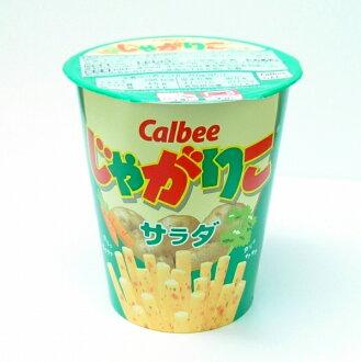 买Calbee卡乐B jagariko色拉12个情况,同时买
