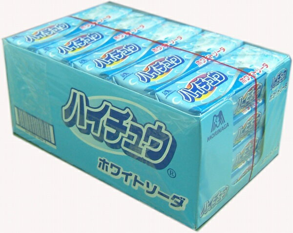 ▼森永ハイチュウ▼ホワイトソーダ味 7粒×20本