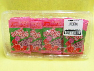 Takaoka Strawberry Mugi 13 g x 20 light texture of chocolate snacks