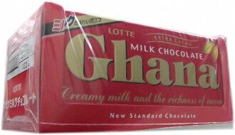■进入乐天迦纳牛奶巧克力10