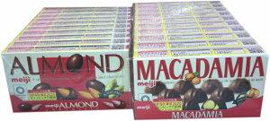 ■明治 アーモンドチョコ、マカダミアチョコ20箱セット
