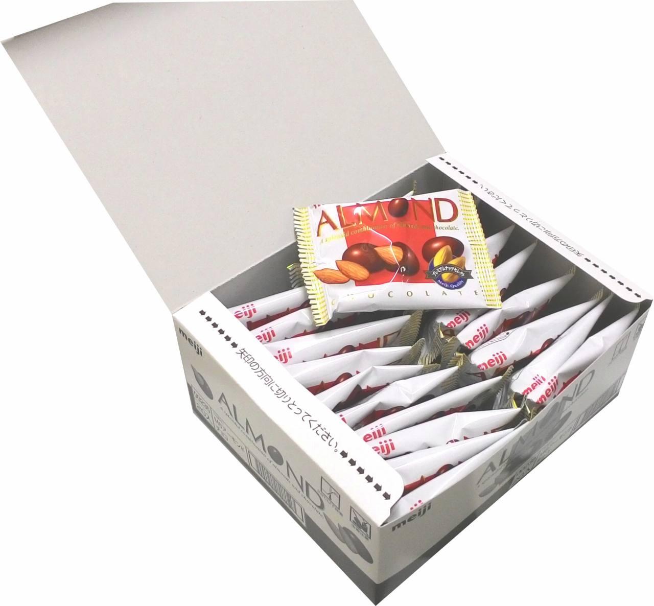 ■明治製菓 小袋アーモンドチョコレート 16g×20袋