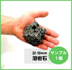 【サンプル】溶岩石 (高濾過) ブラック 黒 5-10cm