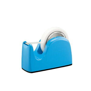 テープカッター 太巻・小巻兼用 ライトブルー 31247 TC-301LBL プラス
