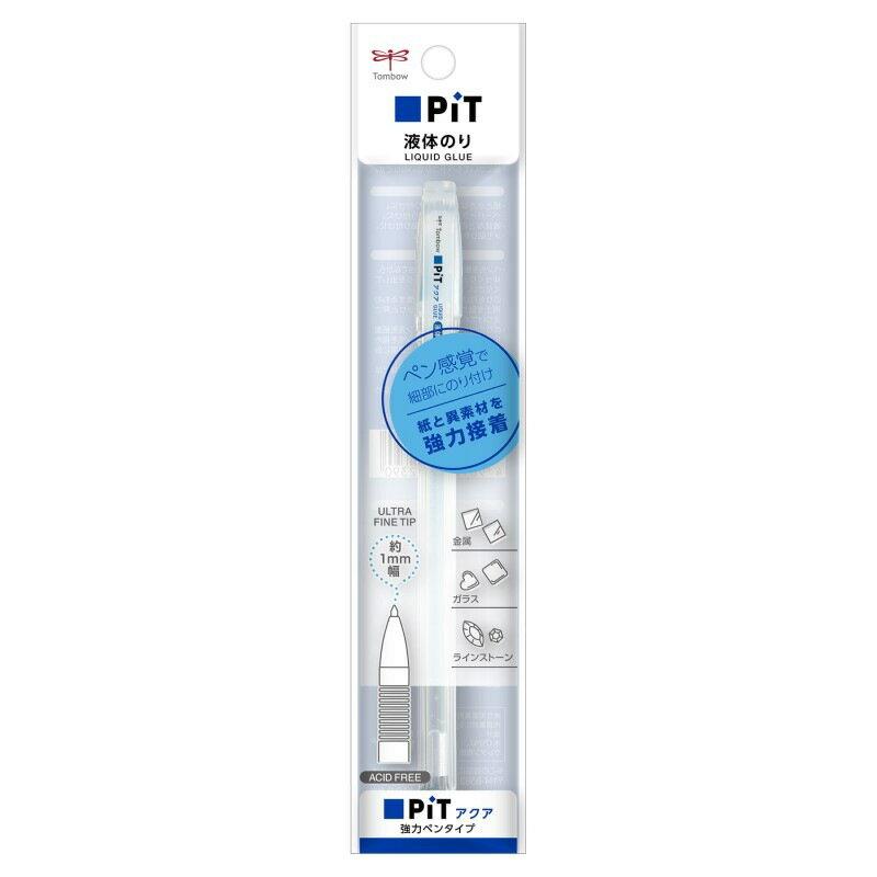 液体のり アクアピット強力ペンタイプ PT-WP トンボ鉛筆