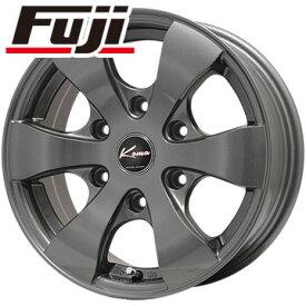 タイヤはフジ 送料無料 NV350キャラバン 5ZIGEN ゴジゲン KOMA3 Limited 6J 6.00-15 MICHELIN アジリス 195/80R15 15インチ サマータイヤ ホイール4本セット