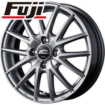 タイヤはフジ 送料無料 MID シュナイダー SQ27 4J 4.00-12 BRIDGESTONE エコピア R710 80/78N(限定) 145/80R12 12インチ サマータイヤ ホイール4本セット
