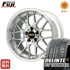 タイヤはフジ 送料無料 BBS JAPAN BBS RS-GT 8J 8.00-19 DELINTE デリンテ D7 サンダー(限定) 235/35R19 19インチ サマータイヤ ホイール4本セット