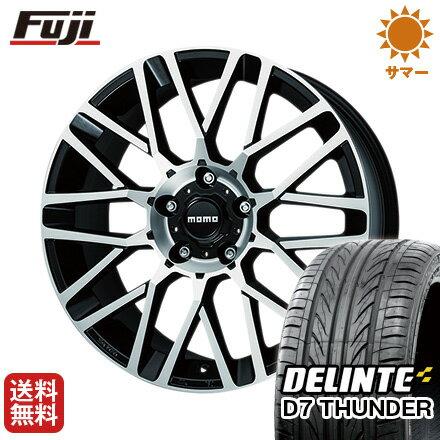 タイヤはフジ 送料無料 MOMO モモ リベンジEVO 8J 8.00-18 DELINTE デリンテ D7 サンダー(限定) 235/40R18 18インチ サマータイヤ ホイール4本セット