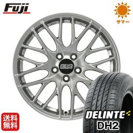 タイヤはフジ 送料無料 BBS GERMANY BBS CS 限定 7.5J 7.50-18 DELINTE デリンテ DH2(限定) 225/55R18 18インチ サマータイヤ ホイール4本セット