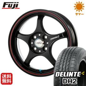 タイヤはフジ 送料無料 5ZIGEN ゴジゲン PROレーサーFN01R-C α 5J 5.00-15 DELINTE デリンテ DH2(限定) 165/55R15 15インチ サマータイヤ ホイール4本セット