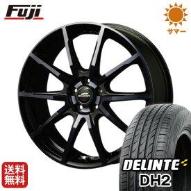タイヤはフジ 送料無料 MID シュナイダー DR-01 6.5J 6.50-16 DELINTE デリンテ DH2(限定) 195/55R16 16インチ サマータイヤ ホイール4本セット