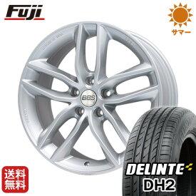 タイヤはフジ 送料無料 BBS GERMANY BBS SX 8J 8.00-18 DELINTE デリンテ DH2(限定) 225/50R18 18インチ サマータイヤ ホイール4本セット