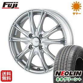 タイヤはフジ 送料無料 5ZIGEN ゴジゲン リーガレスα EX 6J 6.00-15 NEOLIN ネオリン ネオグリーン プラス(限定) 195/65R15 15インチ サマータイヤ ホイール4本セット