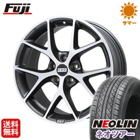 タイヤはフジ 送料無料 BBS GERMANY BBS SR 7.5J 7.50-17 NEOLIN ネオリン ネオツアー(限定) 215/50R17 17インチ サマータイヤ ホイール4本セット