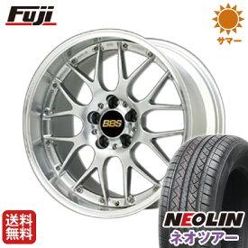 タイヤはフジ 送料無料 BBS JAPAN BBS RS-GT 7J 7.00-17 NEOLIN ネオリン ネオツアー(限定) 215/50R17 17インチ サマータイヤ ホイール4本セット