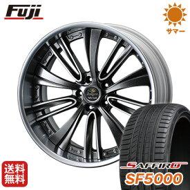 タイヤはフジ 送料無料 ベンツGLC(X253) WEDS クレンツェ ヴォルテイル 8.5J 8.50-20 SAFFIRO サフィーロ SF5000(限定) 255/45R20 20インチ サマータイヤ ホイール4本セット 輸入車
