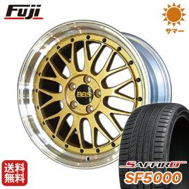 タイヤはフジ 送料無料 BBS JAPAN BBS LM F:8.50-20 R:9.50-20 SAFFIRO サフィーロ SF5000(限定) F:245/35R20 R:275/30R20 サマータイヤ ホイール4本セット