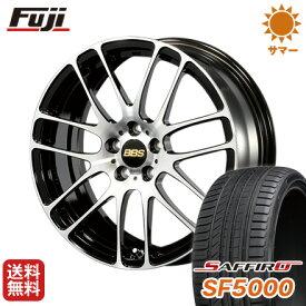 タイヤはフジ 送料無料 BBS JAPAN BBS RE-L2 ブラックダイヤカット 6.5J 6.50-16 SAFFIRO サフィーロ SF5000(限定) 195/45R16 16インチ サマータイヤ ホイール4本セット