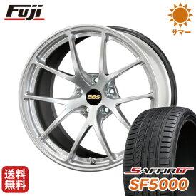 タイヤはフジ 送料無料 BBS JAPAN BBS RI-A 7.5J 7.50-18 SAFFIRO サフィーロ SF5000(限定) 215/40R18 18インチ サマータイヤ ホイール4本セット