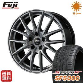 タイヤはフジ 送料無料 MID シュナイダー SQ27 6.5J 6.50-16 SAFFIRO サフィーロ SF5000(限定) 215/60R16 16インチ サマータイヤ ホイール4本セット