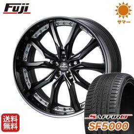 タイヤはフジ 送料無料 ベンツGLC(X253) WEDS クレンツェ ヴェラーエ 8.5J 8.50-20 SAFFIRO サフィーロ SF5000(限定) 255/45R20 20インチ サマータイヤ ホイール4本セット 輸入車