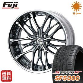 タイヤはフジ 送料無料 ベンツGLC(X253) WEDS クレンツェ ウィーバル 8.5J 8.50-20 SAFFIRO サフィーロ SF5000(限定) 255/45R20 20インチ サマータイヤ ホイール4本セット 輸入車