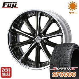 タイヤはフジ 送料無料 ベンツGLC(X253) WEDS クレンツェ マリシーブ 8.5J 8.50-20 SAFFIRO サフィーロ SF5000(限定) 255/45R20 20インチ サマータイヤ ホイール4本セット 輸入車