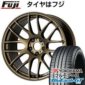 タイヤはフジ 送料無料 WORK ワーク エモーション M8R 8.5J 8.50-19 YOKOHAMA ブルーアース GT AE51 245/45R19 19インチ サマータイヤ ホイール4本セット
