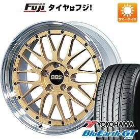 【取付対象】【送料無料】 225/35R19 19インチ BBS JAPAN BBS LM 7.5J 7.50-19 YOKOHAMA ヨコハマ ブルーアース GT AE51 サマータイヤ ホイール4本セット