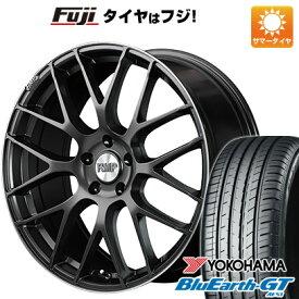 【取付対象】【送料無料】 225/45R18 18インチ MID RMP 028F 7J 7.00-18 YOKOHAMA ブルーアース GT AE51 サマータイヤ ホイール4本セット