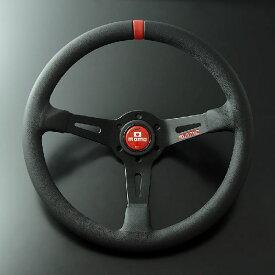 【正規輸入品】送料無料(一部離島除く) MOMO モモ ハンドル FULL SPEED フルスピード 348D レッド フジコーポレーション