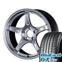 【送料無料】 235/50R18 18インチ SSR GTX03 7.5J 7.50-18 YOKOHAMA ヨコハマ ブルーアース GT AE51 サマータイヤ ホ…