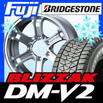 【送料無料】 BRIDGESTONE ブリヂストン ブリザック DM-V2 265/60R18 18インチ スタッドレスタイヤ ホイール4本セット WEDS キーラー フォース 8J 8.00-18