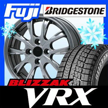 【送料無料】 BRIDGESTONE ブリヂストン ブリザック VRX 165/65R13 13インチ スタッドレスタイヤ ホイール4本セット BRANDLE ブランドル 486 4J 4.00-13