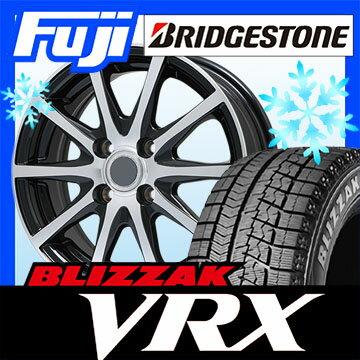 【送料無料】 BRIDGESTONE ブリヂストン ブリザック VRX 215/65R16 16インチ スタッドレスタイヤ ホイール4本セット BRANDLE ブランドル M71BP 6.5J 6.50-16