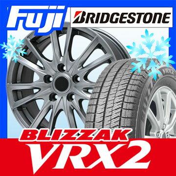 【送料無料】 BRIDGESTONE ブリヂストン ブリザック VRX2 215/50R17 17インチ スタッドレスタイヤ ホイール4本セット BRANDLE ブランドル 485 7J 7.00-17
