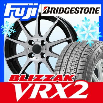 【送料無料】 BRIDGESTONE ブリヂストン ブリザック VRX2 155/65R13 13インチ スタッドレスタイヤ ホイール4本セット BRANDLE ブランドル 562B 4J 4.00-13