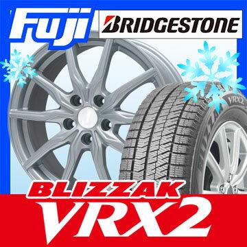 【送料無料】 BRIDGESTONE ブリヂストン ブリザック VRX2 215/65R16 16インチ スタッドレスタイヤ ホイール4本セット BRANDLE ブランドル 008 6.5J 6.50-16