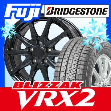 【送料無料】 BRIDGESTONE ブリヂストン ブリザック VRX2 225/60R17 17インチ スタッドレスタイヤ ホイール4本セット BRANDLE ブランドル M71B 7J 7.00-17