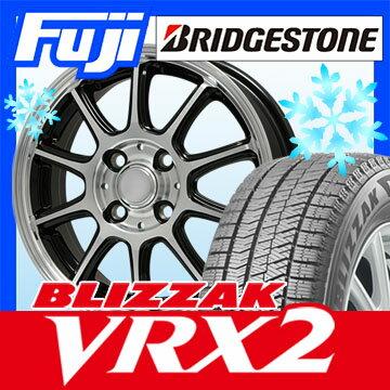 【送料無料】 BRIDGESTONE ブリヂストン ブリザック VRX2 145/80R13 13インチ スタッドレスタイヤ ホイール4本セット BRANDLE ブランドル Z01B 4J 4.00-13