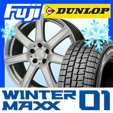 【送料無料 VW(ゴルフ)】 DUNLOP ダンロップ ウィンターMAXX 01 WM01 205/55R16 16インチ スタッドレスタイヤ ホイール4本セット 輸入車 SPORT TECHNIC スポーツテクニック MONO 7ヴィジョンEu 6.5J 6.50-16