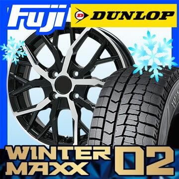 【送料無料】 DUNLOP ダンロップ ウィンターMAXX 02 WM02 205/60R16 16インチ スタッドレスタイヤ ホイール4本セット BRANDLE ブランドル TM20B 6.5J 6.50-16